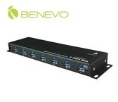 【超人生活百貨】免運 BENEVO BUH387 UltraUSB 工業級 7埠 USB3.0 集線器 可壁掛安裝
