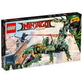 樂高積木 LEGO《 LT70612 》 NINJAGO 旋風忍者系列 - 綠忍者機甲巨龍╭★ JOYBUS玩具百貨
