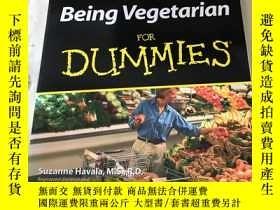 二手書博民逛書店Being罕見Vegetarian FOR. DUIMMIESY