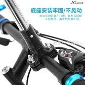 自行車傘架 傘架單車撐傘架雨傘支架電動車遮陽嬰兒車不銹鋼·夏茉生活
