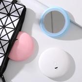 【超取299免運】LED甜甜圈美妝鏡 化妝鏡 便攜帶 抖音網紅補光鏡