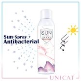 抗菌防曬噴霧SPF50++ 12HR抗菌力 藍風鈴清香【UNICAT變臉貓】