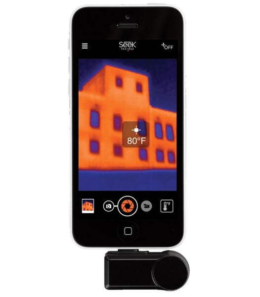 ::bonJOIE:: 美國進口 Seek Compact 手機專用熱感應鏡頭 iPhone 版 LW-AAA (全新盒裝) Advanced Thermal Camera Connect