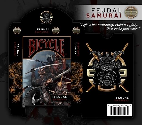 【USPCC 撲克】Bicycle samurai deck playing card