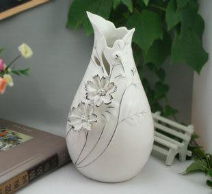 工藝品擺件 家居裝飾 新房裝飾 浮雕 花朵花瓶