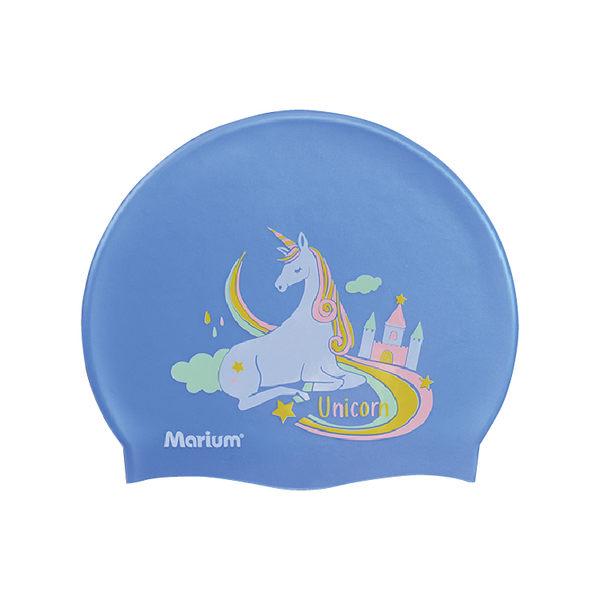 ≡MARIUM≡  矽膠泳帽 - 彩虹獨角獸 (共三色) MAR-8626