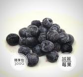【誠麗莓果】急速冷凍加拿大栽培藍莓300克全館滿799免運