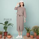限量現貨◆PUFII-套裝 正韓七分袖上...