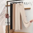 【QV9177】魔衣子-高腰顯瘦垂感冰絲...