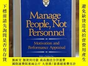 二手書博民逛書店Manage罕見People Not PersonnelY429145 Victor Vroom Harvar