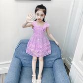 花童禮服2018夏季新款夏裝連衣裙中大童裙子小女孩童裝  ys2174『時尚玩家』