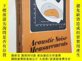 二手書博民逛書店Acoustic罕見Noise Measurements 《聲音探測裝置》Y230057