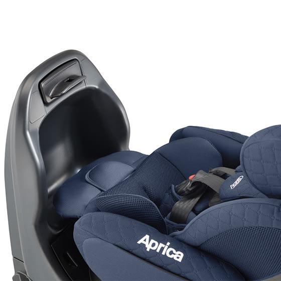 Aprica Fladea grow ISOFIX Premium 平躺型旋轉汽座 黑山