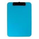 《享亮商城》66214-BL 藍色 A4超耐摔板夾 ABEL