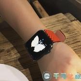 波點iwatch腕帶蘋果智能手表帶apple watch錶帶【千尋之旅】