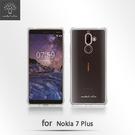 【默肯國際】 Metal Slim  Nokia 7 Plus 透明TPU空壓殼 防摔 軟殼 手機保護殼 清水套 果凍套