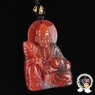 濟公(印度瑪瑙)中國結項鍊 A4【十方佛教文物】