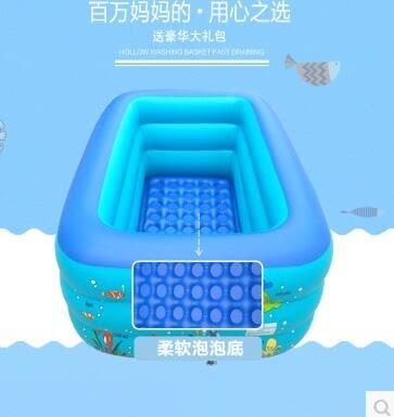 嬰兒充氣超大家用加厚保溫泳池xx1622 【VIKI菈菈】