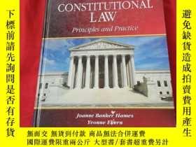 二手書博民逛書店CONSTITUTIONAL罕見LAW Principies and practiceY179070 CONS