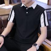 【優先出】現貨◆拼接雙色◆短袖T恤【Z1-765022】
