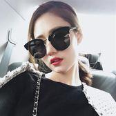墨鏡眼睛太陽鏡女款偏光女潮復古原宿風圓臉眼鏡 愛麗絲精品