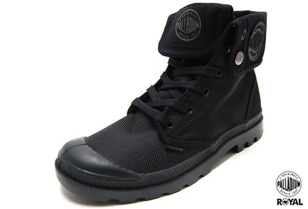 Palladium 新竹皇家 MONOCHROME BAGGY II 黑色 防潑水 中統靴 男女款 NO.A6785