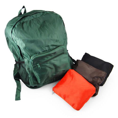 [AWANA]《超值2入》輕便摺疊收納背包(隨機色)