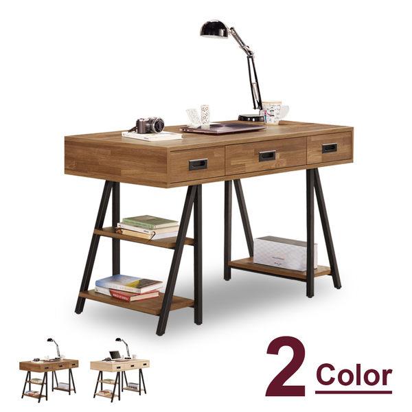 書桌【時尚屋】[C7]柏德4尺書桌C7-874-1 兩色可選/免運費/免組裝/書桌