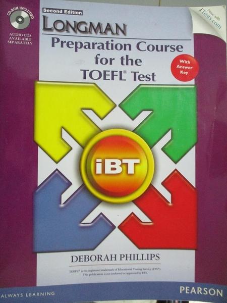 【書寶二手書T3/語言學習_EBY】Longman Preparation Course for the TOEFL T