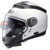 [中壢安信] 義大利 Nolan N44 素色 CLASSIC #5 白 半罩 安全帽 可裝藍芽 內墨片 下巴可拆