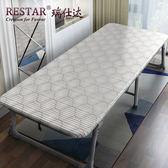 折疊床板式床單人成人午休床辦公室午睡床簡易床硬板木板床wy 快速出貨