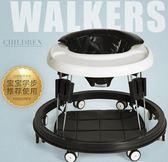 嬰兒童學步車多功能防側翻6/7-18個月手推可坐寶寶滑行車