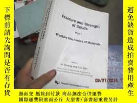 二手書博民逛書店Fracture罕見and Strength of Solids