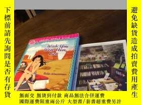 二手書博民逛書店英文原版罕見wish you were here , LizaY