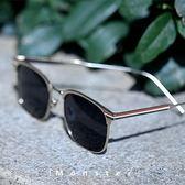 太陽眼鏡 潮墨鏡男太陽鏡半框彩色偏光鏡 台北日光