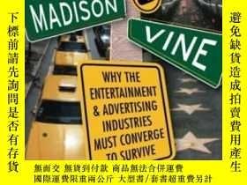 二手書博民逛書店Madison罕見And Vine: Why The Enter