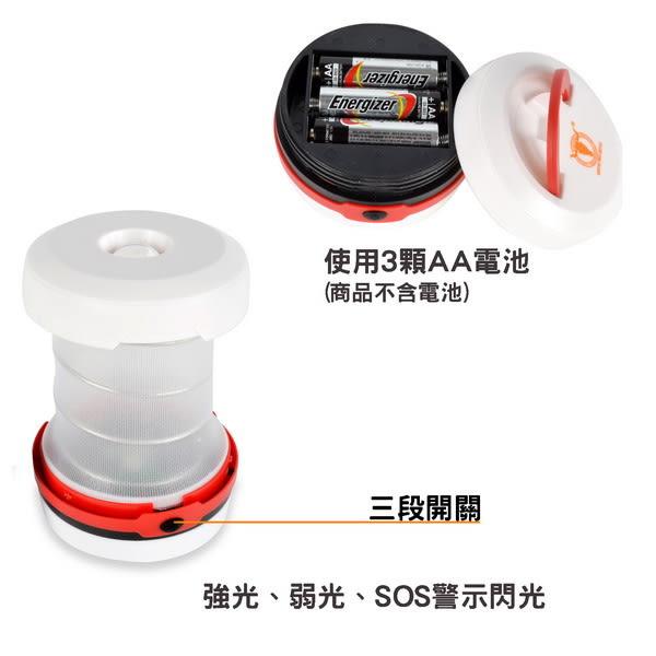 【APC】伸縮帳篷燈(LED燈)-藍色/紅色2色可選 LC593