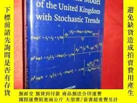 二手書博民逛書店A罕見Continuous Time Econometric M