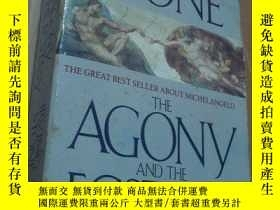 二手書博民逛書店THE罕見AGONY AND THE ECSTASYY21794