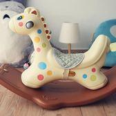 帶音樂小木馬車塑料寶寶搖搖馬1-3周歲禮物