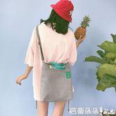 2017夏季新款時尚日繫韓版帆布包袋托特大包女包手提包單肩斜背包【芭蕾朵朵】