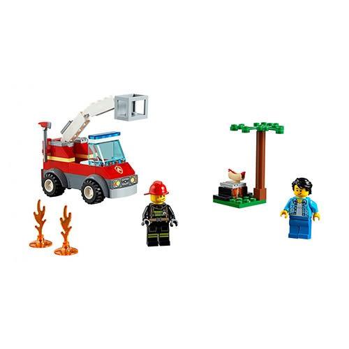 樂高積木 LEGO《 LT60212 》City 城市系列 - 烤肉架火災╭★ JOYBUS玩具百貨