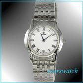 【萬年鐘錶】CYMA瑞士司馬錶 白 超薄男錶 02-0460-002 24期零利率