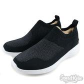 Skechers 慢跑鞋 Go Strike 黑白 編織 襪套式 懶人鞋 男生 54211BKW -SPEEDKOBE-
