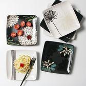 微波爐陶瓷創意牛排盤子家用水果方盤日式好看的菜盤碟子西餐餐具XSX