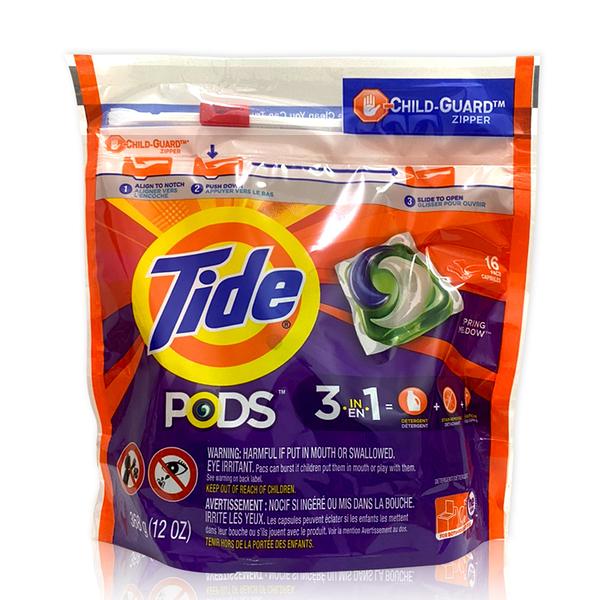 Tide洗衣膠囊-春天草地清香-16顆