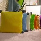 抱枕 沙發靠墊抱枕套客廳靠背墊靠枕方形大號枕頭床頭護腰辦公室不含芯【快速出貨八折鉅惠】