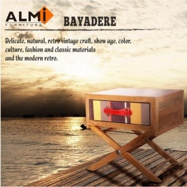 ALMI DOCKER BAYADERE- BAY BEDSIDE 床頭邊櫃