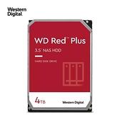 WD 威騰 4TB 3.5吋 紅標 Plus 128M快取 5400轉 NAS專用 內接硬碟 WD40EFZX