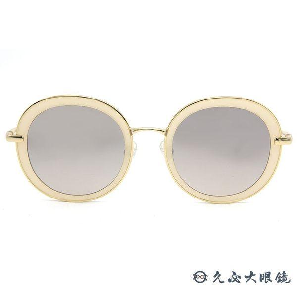 LASH 墨鏡 BELIEF IV03  (裸白-金) 圓框 復刻版 韓國 淺水銀  太陽眼鏡 久必大眼鏡